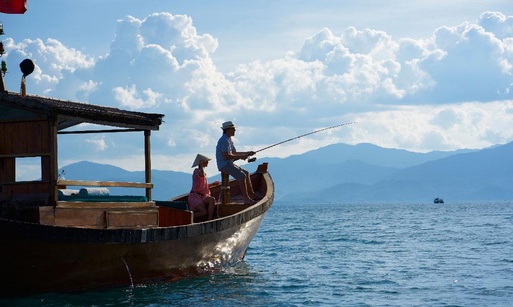 Fishing trip at Six Senses Ninh Van Bay