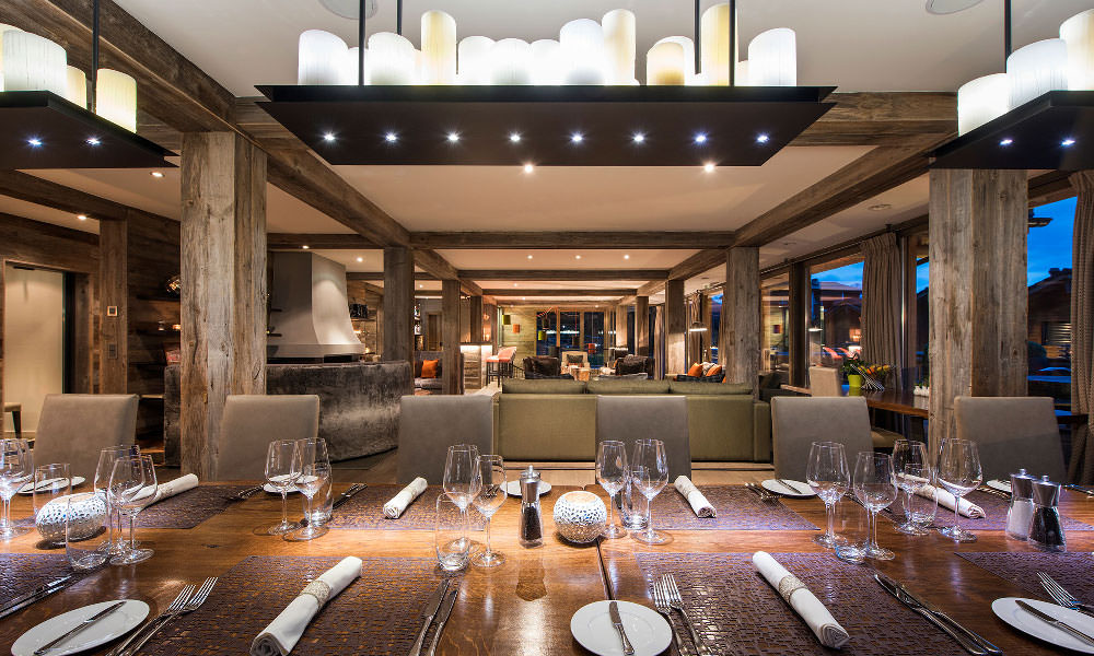 Interior at The Lodge, Verbier