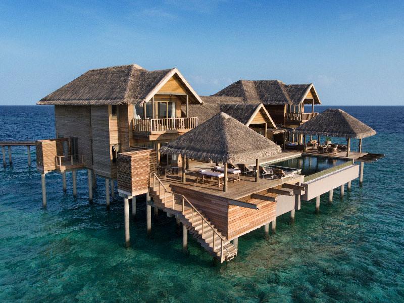 Four Bedroom Overwater Pool Residence