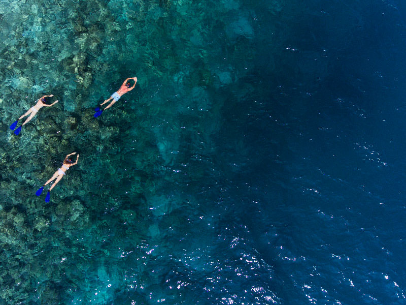 Snorkelling at Vakkaru