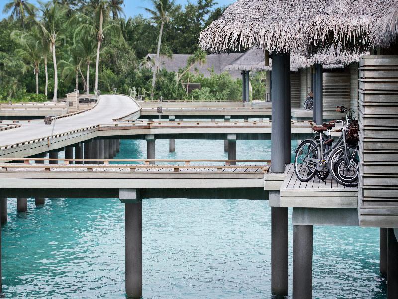 The Overwater Villa Jetty at Vakkaru