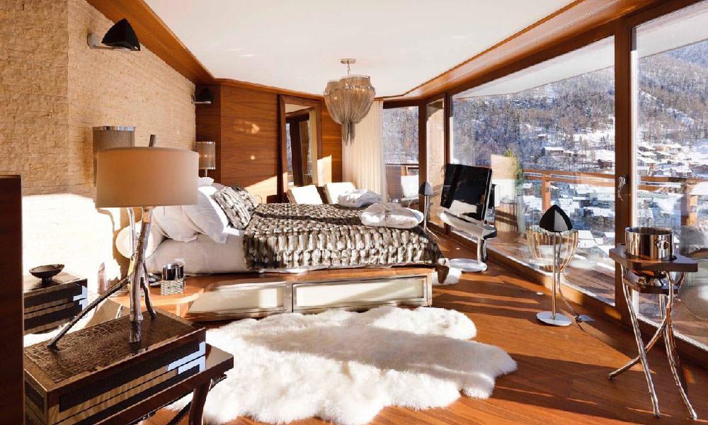 Bedroom views at Zermatt Peak